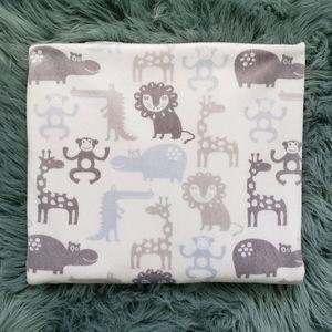 Safari Animals Baby Blanket